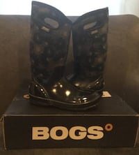 BOGS Womens Teen Girl Snow Rain Boots Size 8 (will fit 7.5 8.5 too) New York, 11215