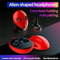 Cartoon Alien Shape Wireless Bluetooth 5.0 Earphones TWS Earphone IPX4 Las Vegas, 89147