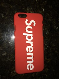 SUPREME iPhone 6 case Matte Hard Plastic