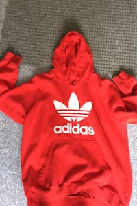 Red Adidas Hoodie Langley, V1M 4C5