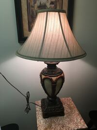 Faux Bamboo Ceramic Table Lamp