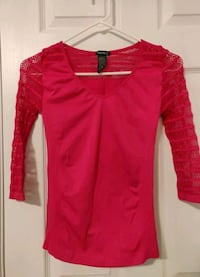 New, pink stretchy workout shirt Katy, 77449