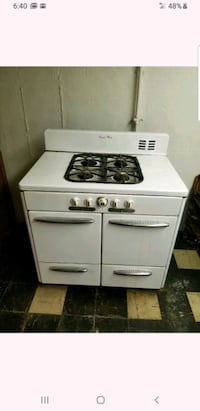 Antique stove/Oven Combo