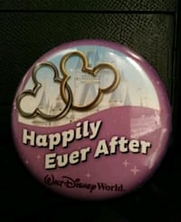 Disney Happily Every After Button Hamilton