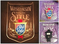 Wisconsin Old Style You've Got Style Heileman's Lighted Beer Sign
