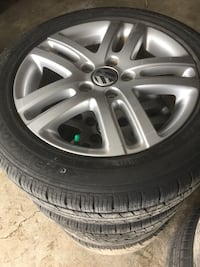 Another set of 5x112 205/55r/16 VW in excellent condition