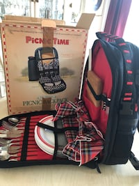 Picnic Backpack for Four (Never used, like new)