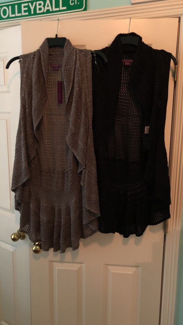 26823d7b83f39 Used women s brown and black cardigans for sale in Lewisville - letgo