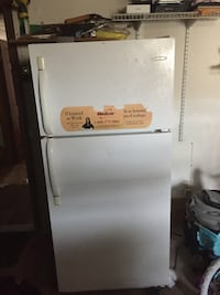 white top-mount refrigerator Fall River, 02721