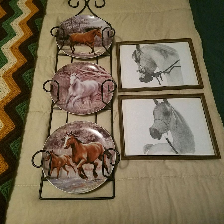 Horse wall decorations