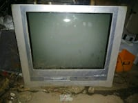 gray CRT television with remote Compton, 90222