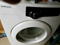 white Samsung front-load clothes washer Patterson, 95363