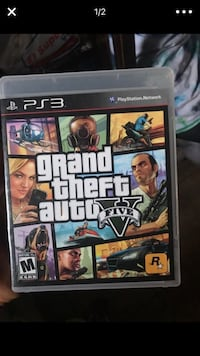 GTA five Sony PS3 game  Fullerton, 92833