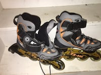Pair of black-and-gray inline skates Richmond Hill, L4S 1V9