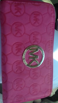 pink and white leather wallet Victoria, V8R 5L1
