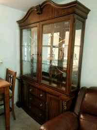 Wood China Cabinet Arlington, 22203