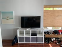 Storage Cubby Unit TV Stand