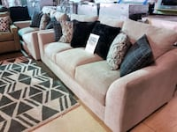 Brand new couch and love seat set
