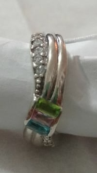 SILVER RING.SIZE 6