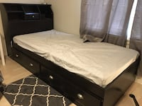 Twin pedestal bed with storage headboard and drawers underneath  Hermosa Beach, 90254