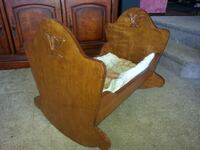 Wood Craddle  Never Used.  Great X-mas gift Boring, 97009