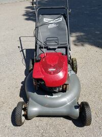 Craftsman lawn mower with a bag