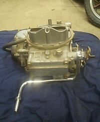 Holley carb Johnson, 10933