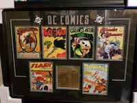 Dc first editions framed print Dorchester, N0L 1G3