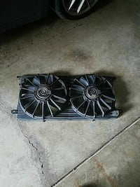 Cadillac DeVille engine cooling fan