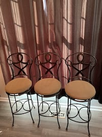 Metal Bar Stools  Frederick