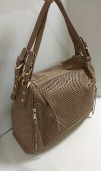 MADISON WEST City Perforated Zipper Tote (LIKE NEW