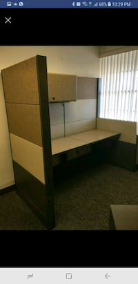 Cubicles 6x6 with keys and lights Tampa