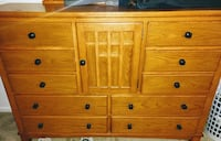 brown wooden sideboard Delray Beach, 33484