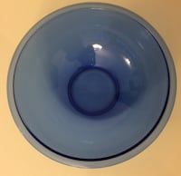 Large Cobalt Blue Pyrex Mixing Bowl For Sale Burlington