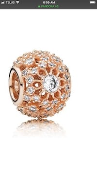 pandora rose gold charm- comes with receipt