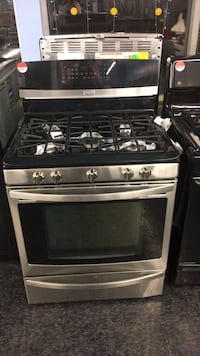 stainless steel and black gas range oven Toronto, M3J
