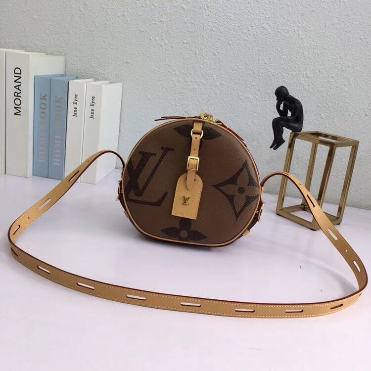 Louis Vuitton Round Crossbody Bag