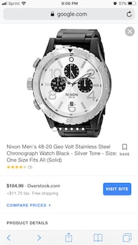 Nixon Chronograph Watch. Great condition, no scratches  Saint George, 84790