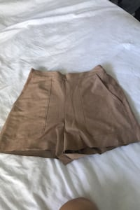 Aritzia high waisted  suede shorts Toronto, M5V 2E8