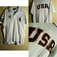 white and red-black ralph lauren  polo jersey Bowie, 20721