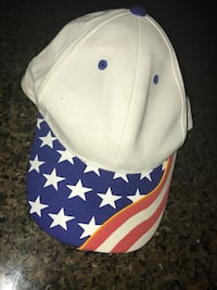 blue, red, and white baseball cap Fayetteville, 30215
