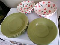 Pottery Barn dishes and Gibson serveware  Centreville