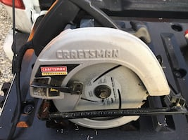 "Craftsman 7-1/4"" circular saw"