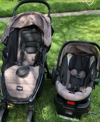 Britax Car sit and stroller  Sterling, 20165