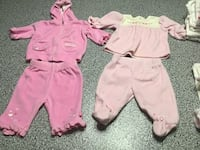 Baby's pink footie pajamas. Size 3 months  Gainesville, 20155