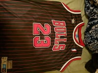 red and black Chicago Bulls 23 jersey El Paso, 79925
