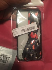 black and red floral iPhone case Bradenton, 34208