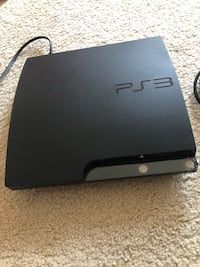 PS3 with cables  Woodbridge, 22191