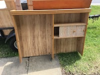 Complete bedroom suit no bed frame very good condition very solid and heavy oak furniture State College, 16801
