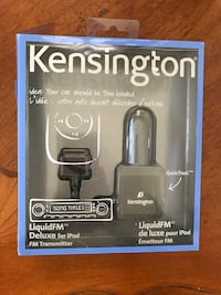 Kensington Liquid FM Deluxe for IPod. New Santa Clara, 95054